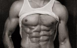 عضلات بطن مقسمة