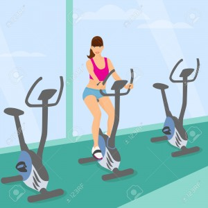 تمرين الدراجة للنساء